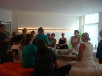 Jimmy Quitan teaching in Amsterdam (oktober 2014)